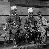 Egypt. Cairo : street life in front of the Madrassa UM AL sultan Shaban - Cha'Ban -  in Darb al Ahmar  street, islamic Cairo   NM125