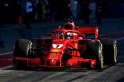 March 9, 2018 - Barcelona, Spain - Motorsports: FIA Formula One World Championship 2018, Test in Barcelona,#7 Kimi Raikkonen (FIN, Scuderia Ferrari) (Credit Image: © Hoch Zwei via ZUMA Wire)