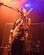 WASHINGTON, DC - March 10th  2013 -  Vincent Neff and David Maclean of Django Django perform at the 9:30 Club in Washington, D.C. The band's self-titled debut album has earned plaudits from The Guardian, Rolling Stone and the NME. (Photo by Kyle Gustafson/For The Washington Post)