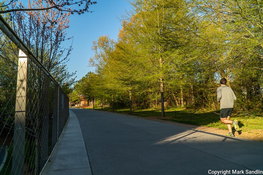 Inman Park area of Atlanta Beltline Eastside.