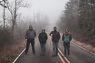 Friends out for a walk on Roan Mountain, which straddles the border between North Carolina and Tennessee. (November 29, 2019)