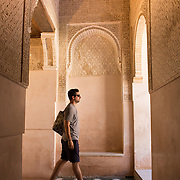 """Inside the Nasrid Palaces in Granada, Spain.<br /> <br /> For all details about sizes, paper and pricing starting at $85, click """"Add to Cart"""" below."""