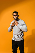 NEW YORK, NY -- 6/6/17 -- Nnamdi Asomugha, stars in the new film Crown Heights, based on the life of Colin Warner, who was wrongly incarcerated for over 20 years. Asomugha plays his best friend, Carl King in the film, which won the Audience Award at Sundance. The film is to be released August 25.…by André Chung #_AC18955