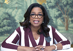 April 18, 2017 - New York, New York, U.S. - OPRAH WINFREY promotes 'The Immortal Life of Henrietta Lacks' Oprah Gail Winfrey (born January 29, 1954), better known as Oprah Winfrey, is an American media proprietor, talk show host, actress, producer, and philanthropist. She is best known for her talk show The Oprah Winfrey Show, which was the highest-rated television program of its kind in history and was nationally syndicated from 1986 to 2011 in Chicago, Illinois. ubbed the 'Queen of All Media', she has been ranked the richest African-American, the greatest black philanthropist in American history, and is currently North America's first and only multi-billionaire black person. Several assessments rank her as the most influential woman in the world. In 2013, she was awarded the Presidential Medal of Freedom and honorary doctorate degrees from Duke and Harvard. The Immortal Life of Henrietta Lacks (TV Movie executive producer 2017), Greenleaf (TV Series producer 2017), Queen Sugar (TV Series producer 2017). (Credit Image: © Armando Gallo via ZUMA Studio)