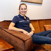 NLD/Oranjewoud/20171222 - Perspresentatie leden schaatsteam Justlease, Melissa Wijfje