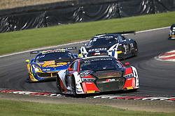 May 7, 2018 - Brands Hatch, Grande Bretagne - 26 SAINTELOC RACING (FRA) AUDI R8 LMS NYLS STIEVENART (FRA) MARKUS WINKELHOCK  (Credit Image: © Panoramic via ZUMA Press)