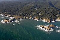 Haven's Neck  & Fish Rocks looking northeast,  North Coast MLPA study site