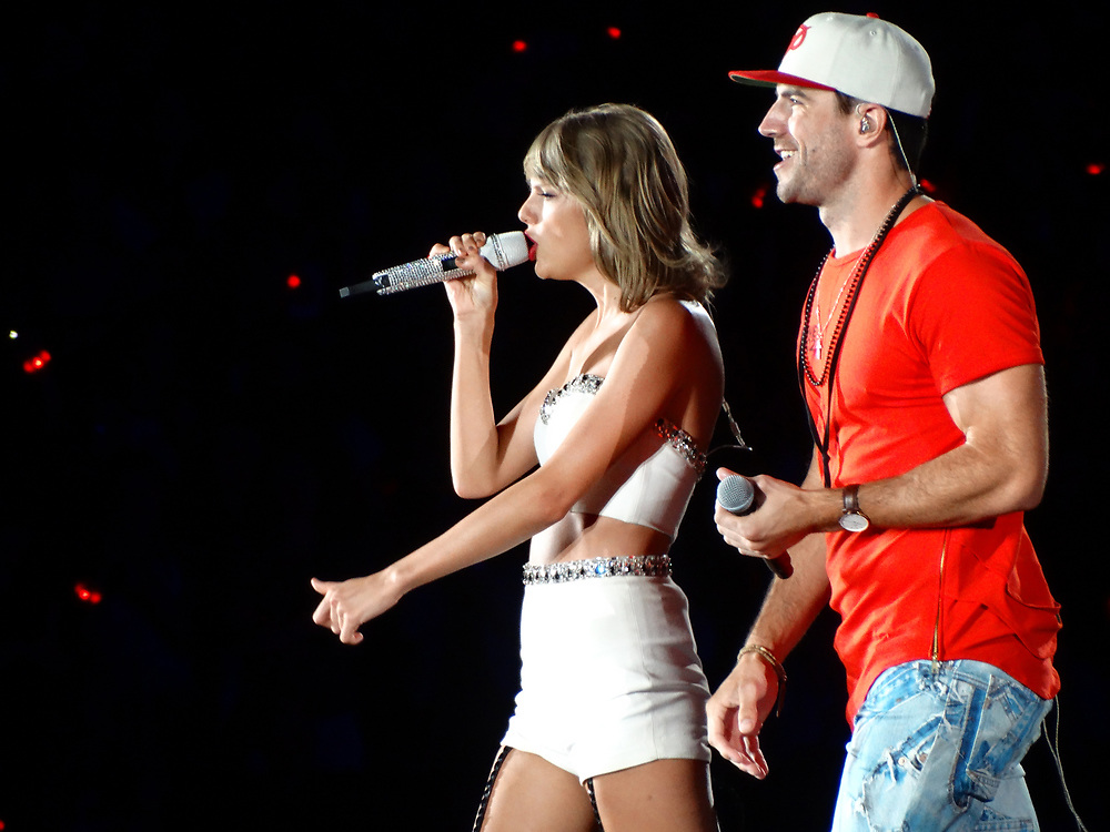 Taylor Swift brings her 1989 World Tour to Soldier Field in Chicago, IL on July 19, 2015.