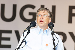 3rd May 2021 - Bill Gates announces that he and his wife Melinda are divorcing after 27 years of marriage. <br /> <br /> <br /> Bill Gates speaks at The Big IF event <br /> 'Enough Food for Everyone'<br /> Hyde Park, London, Great Britain <br /> 8th June 2013 <br /> <br /> On Saturday 8 June, tens of thousands of people gathered in Hyde Park for the Big IF London rally. They were there to make a massive noise in demanding that G8 leaders - meeting in Northern Ireland on 17-18 June - take action to tackle global hunger and save the lives of millions.<br /> <br /> speakers & presenters include:<br /> <br /> <br /> Bill Gates<br /> <br /> <br /> <br /> Photograph by Elliott Franks