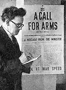 Herbert Stanley Morrison (1888-1965) British Labour politician. In 1940 appointed Minister of Supply in Churchill's wartime cabinet, Home Secretary October 1940-1945, standing by his poster urging people to work at war speed.