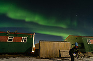 One night that I'm trying to watch star and got distract by the northern light