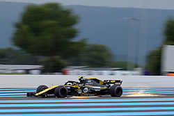 June 23, 2018 - Le Castellet, Var, France - Renault Driver 55 CARLOS SAINZ (ESP) in action during the Formula one French Grand Prix at the Paul Ricard circuit at Le Castellet - France. (Credit Image: © Pierre Stevenin via ZUMA Wire)