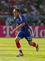 Photo: Glyn Thomas.<br />France v Switzerland. Group G, FIFA World Cup 2006. 13/06/2006.<br />France's Frank Ribery.