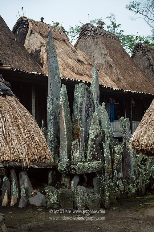 Kampung Bena, Kabupaten Ngada, Flores, Nusa Tenggara Timur, Indonesia