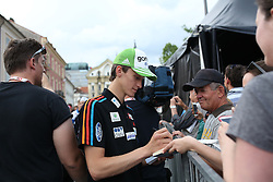 Peter Prevc at Meeting of Slovenian best winter athletes with their fans after season 2014/15 on May 20, 2015 in Kongresni trg, Ljubljana, Slovenia. Photo by Matic Klansek Velej / Sportida