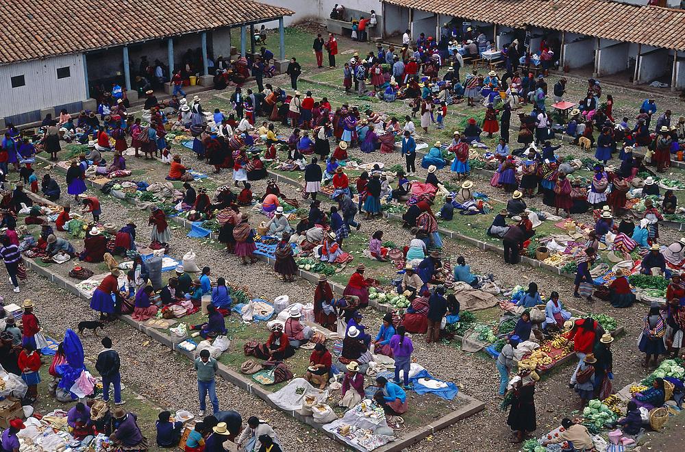 Chinchero market, Cuzco