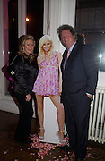 Kathy Richards and Vic Hilton. Paris Hilton's Fragrance Launch Party at Il Bottaccio, Grosvenor Place. London. 16 May 2005. . ONE TIME USE ONLY - DO NOT ARCHIVE  © Copyright Photograph by Dafydd Jones 66 Stockwell Park Rd. London SW9 0DA Tel 020 7733 0108 www.dafjones.com