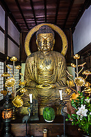 Buddha at Ryotanji - Ryotanji temple is from the Nara period, founded in 733.