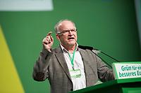 DEU, Deutschland, Germany, Dresden, 07.02.2014:<br />Europaparteitag von BÜNDNIS 90/DIE GRÜNEN, Messe Dresden. Peter Schaar, BÜNDNIS 90/DIE GRÜNEN.