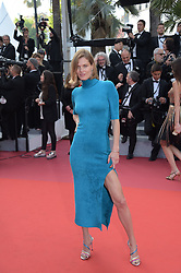 May 25, 2019 - Cannes, France - 72nd Cannes Film Festival 2019, Closing Ceremony Red Carpet. Pictured: Malgosia Bela (Credit Image: © Alberto Terenghi/IPA via ZUMA Press)
