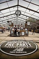 Brooklyn Half Marathon reception at DUMBA for New Balance VIP's