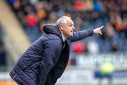 Falkirk's manager Ray McKinnon. Falkirk 1 v 1 Partick Thistle, Scottish Championship game played 16/3/2019 at The Falkirk Stadium.