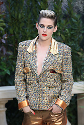 Kristen Stewart at the Chanel show as part of Paris Haute Couture Fashion Week Spring/Summer 2019-2020 on January 22, 2019 in Paris, France. Photo by Jerome Domine/ABACAPRESS.COM