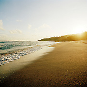Sunset at a beach of Petit-Goâve, Haiti