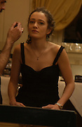 Anna Stothard. The 2005 Crillon Debutante Ball. Crillon Hotel, Paris. 26  November 2005. ONE TIME USE ONLY - DO NOT ARCHIVE  © Copyright Photograph by Dafydd Jones 66 Stockwell Park Rd. London SW9 0DA Tel 020 7733 0108 www.dafjones.com
