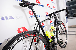 Bike during photo session of Continental cycling team KK Adria Mobil for season 2016, on February 15, 2016 in Novo mesto, Slovenia. Photo by Vid Ponikvar / Sportida