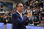 DESCRIZIONE : Beko Legabasket Serie A 2015- 2016 Playoff Quarti di Finale Gara3 Dinamo Banco di Sardegna Sassari - Grissin Bon Reggio Emilia<br /> GIOCATORE : Massimo Maffezzoli<br /> CATEGORIA : Ritratto Delusione Postgame<br /> SQUADRA : Dinamo Banco di Sardegna Sassari<br /> EVENTO : Beko Legabasket Serie A 2015-2016 Playoff<br /> GARA : Quarti di Finale Gara3 Dinamo Banco di Sardegna Sassari - Grissin Bon Reggio Emilia<br /> DATA : 11/05/2016<br /> SPORT : Pallacanestro <br /> AUTORE : Agenzia Ciamillo-Castoria/C.Atzori