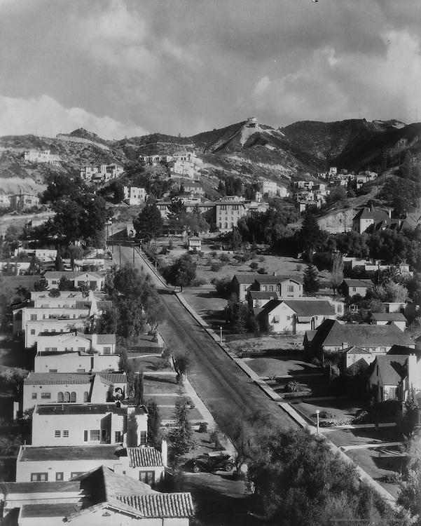 Hollywood, California, USA, 1926