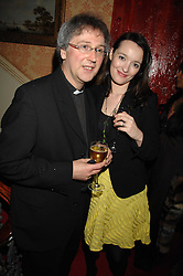 FATHER MICHAEL SEED and     at the engagement party of Vanessa Neumann and William Cash held at 16 Westbourne Terrace, London W2 on 15th April 2008.<br /><br />NON EXCLUSIVE - WORLD RIGHTS
