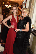 NATALIA VODIANOVA; ELENA LIKHACH, The Backstage Gala in aid of the Naked Heart Foundation. Coliseum theatre. London. 17 April 2015