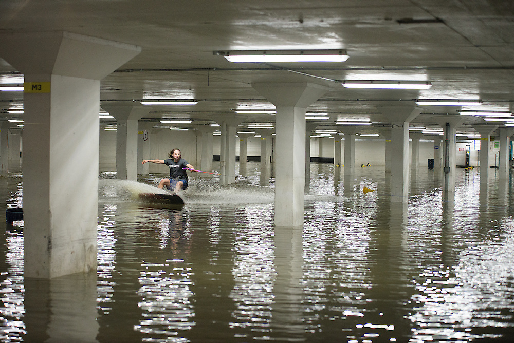Location: Guildford, Bedord Street Car Park.  Wakeboarder: Jack Hammersley, 24 years old, from Surrey