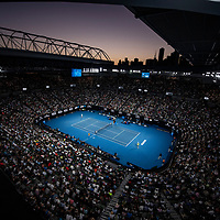 A general view of Rod Laver Arena on day ten of the 2018 Australian Open in Melbourne Australia on Wednesday January 24, 2018.<br /> (Ben Solomon/Tennis Australia)