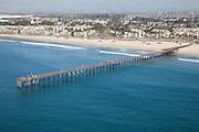 City of Ventura California Aerial Stock Photo Facing North