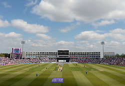 File photo dated 14-06-2015 of A general view of The Ageas Bowl, Southampton.