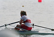 St Catherines, CANADA,  Women's Single Sculls. CAN W1X. Marnie McBEAN, competing at the 1999 World Rowing Championships - Martindale Pond, Ontario. 08.1999..[Mandatory Credit; Peter Spurrier/Intersport-images]  .... 1999 FISA. World Rowing Championships, St Catherines, CANADA