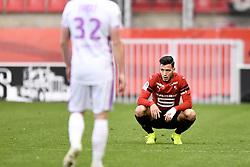 October 28, 2018 - Rennes, France - 15 RAMY BENSEBAINI (REN) - DECEPTION (Credit Image: © Panoramic via ZUMA Press)