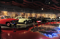 June 8, 2017 - Beijin, Beijin, China - Beijing, CHINA-June 8 2017: (EDITORIAL USE ONLY. CHINA OUT) The five-storey Beijing Automobile Museum boasts an impressive collection of antique cars, including a number of vintage Soviet and Chinese models. (Credit Image: © SIPA Asia via ZUMA Wire)