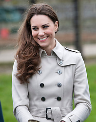 Prince William and Catherine Middleton visit Greenmount Campus during a visit to The College of Agriculture, Food and Rural Enterprise, in Antirm, County Antrim in Northern Ireland.