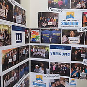 Samsung/Covenant House Sleepout Newark 4/28/17