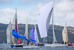 The final days racing at the Silvers Marine Scottish Series 2015, the largest sailing event in Scotland organised by the  Clyde Cruising Club<br /> Racing on Loch Fyne from 22rd-24th May 2015<br /> <br /> Mixed fleet, leeward mark, GBR8569T, Delinquent, Alan Moore, CCC/CYCA, Dehler 34, GBR7029, Farr e Nuff, John Kent, LSC/FYC, Farr 727, GBR7745R, Eala of Rhu, J McGarry / C Moore, RNCYC, Swan 45.<br /> <br /> Credit : Marc Turner / CCC<br /> For further information contact<br /> Iain Hurrel<br /> Mobile : 07766 116451<br /> Email : info@marine.blast.com<br /> <br /> For a full list of Silvers Marine Scottish Series sponsors visit http://www.clyde.org/scottish-series/sponsors/