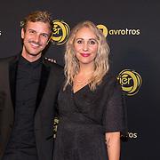 NLD/Amsterdam/20191009 - Uitreiking Gouden Televizier Ring Gala 2019, Saskia Weerstand en partner Sybran Stroo