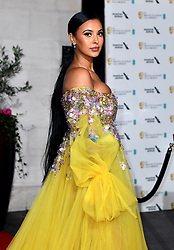 Maya Jama attending the after show party for the 73rd British Academy Film Awards.