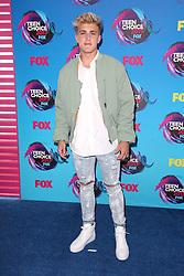 August 13, 2017 - Los Angeles, California, U.S. - 13 August 2017 - Los Angeles, California - Jake Paul. 2017 Teen Choice Awards held at The Galen Center. Photo Credit: F. Sadou/AdMedia (Credit Image: © F. Sadou/AdMedia via ZUMA Wire)