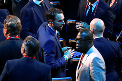 England manager Gareth Southgate (centre) during the FIFA 2018 World Cup draw at The Kremlin, Moscow. PRESS ASSOCIATION Photo Picture date: Friday December 1, 2017. See PA story SOCCER World Cup. Photo credit should read: Nick Potts/PA Wire. RESTICTIONS: Editorial use only. No transmission of sound or moving images. No use with any unofficial third party logos. No altering or adjusting of photographs.