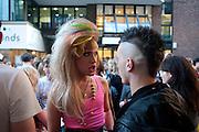 JODIE HARSH; FRANKMUSIK, PUMA/London College Of Fashion - private view. London College of Fashion at Carnaby, 65 - 67 Broadwick St, London W1,