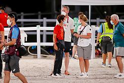 Theodorescu Monica, GER, Basic Julia, GER<br /> Olympic Games Tokyo 2021<br /> © Hippo Foto - Stefan Lafrentz<br /> 27/07/2021